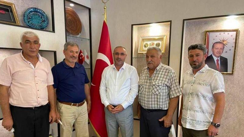 Nevşehir İl Genel Meclisi Başkanı Gürbüz Dinç, İnallı Köyü Heyetini Misafir Etti