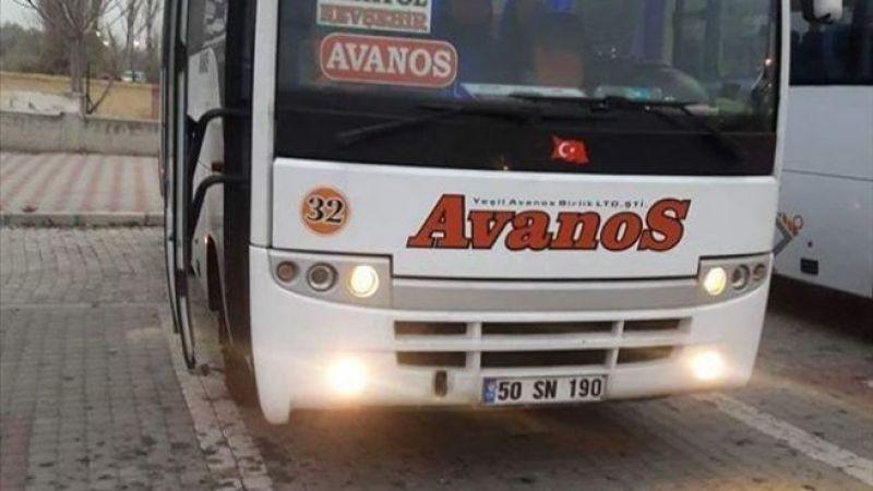 Avanos - Nevşehir Arası Otobüs Saatleri