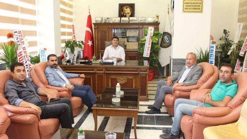 Kooperatif Başkanı Erdoğan Korkutmaz'a Hayırlı Olsun Ziyareti