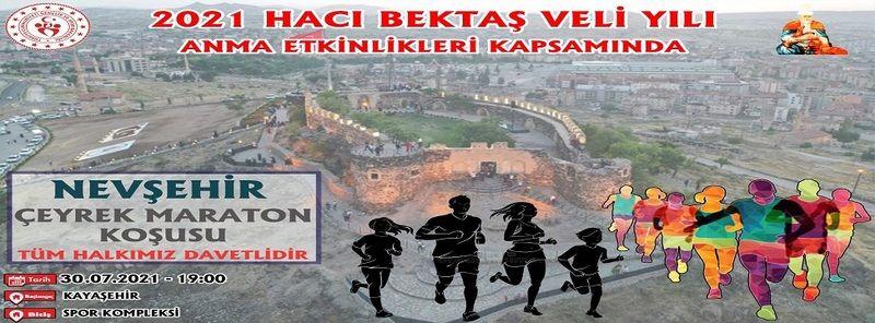 Kayaşehir'de Çeyrek Maraton Koşusu Düzenlenecek