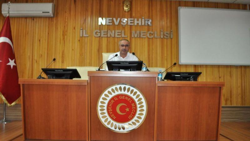 Nevşehir İl Genel Meclisi Toplantıları Pazartesi Günü  Başlıyor