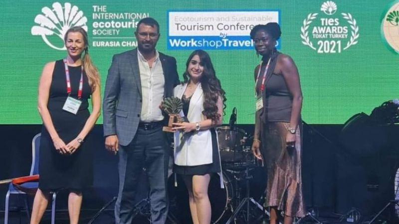 Kapadokya'nın Yeni Oteli İlk Ödülünü Aldı