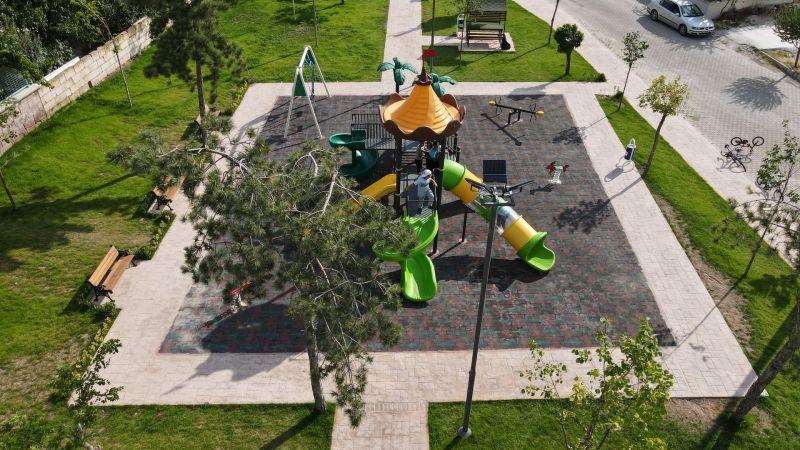 Nevşehir Belediyesi'nden Mehmet Akif Ersoy Mahallesi'ne Yeni Park