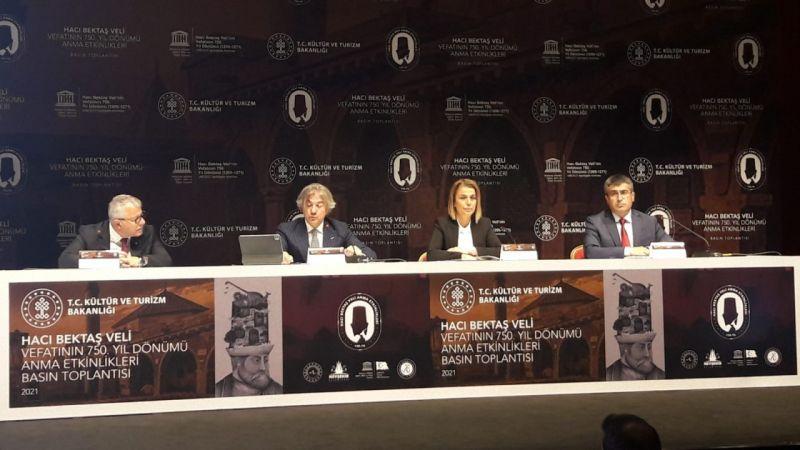 Hacı Bektaş Veli'nin Vefatının 750'nci Yıl Dönümü Etkinlikleri Gerçekleştirilecek
