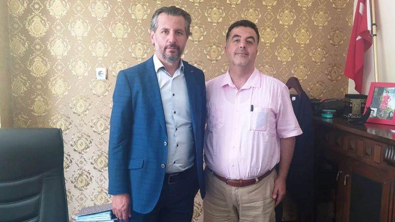 Nevşehir E Tipi Kapalı Cezaevi Müdürü Gençer'den Veda Ziyareti