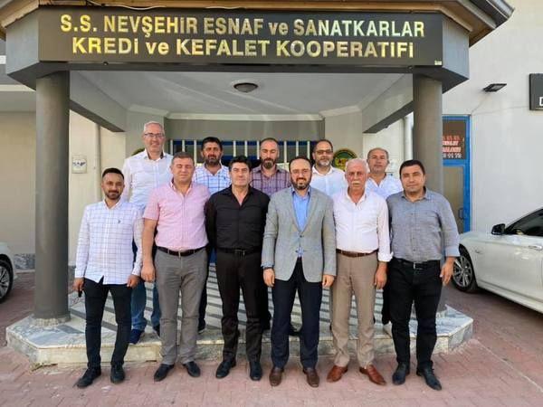 AK Parti Yönetimi Korkutmaz'a Hayırlı Olsun Ziyaretinde Bulundu