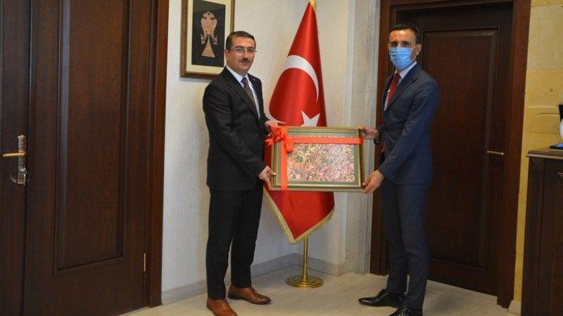 Özdemir'den Başsavcı Çınar'a Hayırlı Olsun Ziyareti