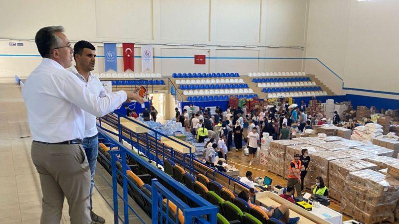 Nevşehir'de Toplanan Gıda Ve İhtiyaç Malzemeleri Manavgat'a ulaştı