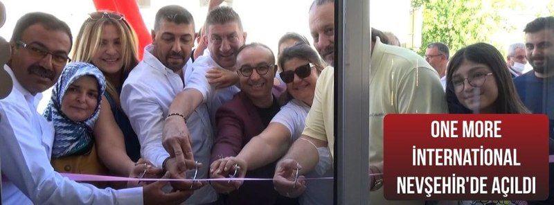 Nevşehir'de One More İnternation Ofisi Açıldı