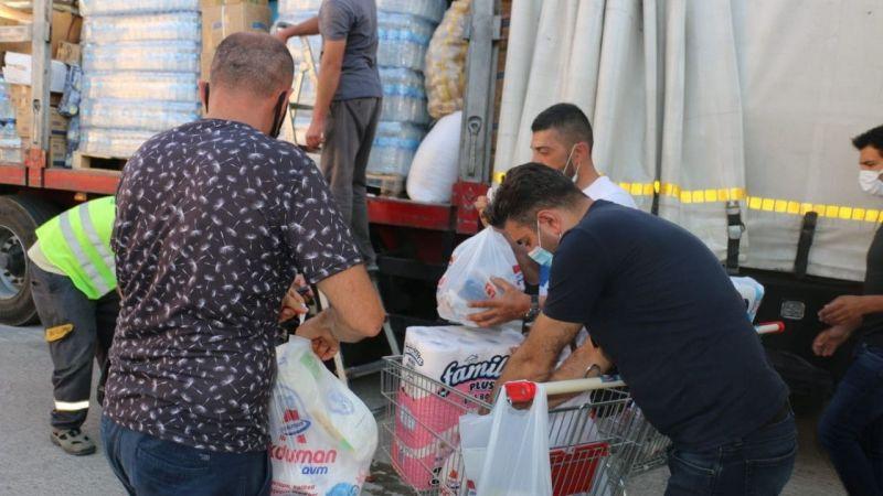 Ürgüp'ten Manavgat'a Gıda Yardımı