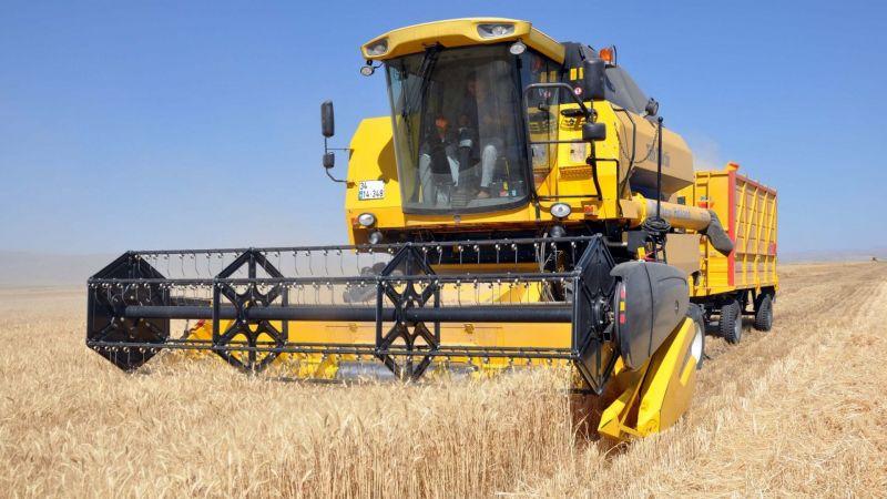 Ürgüp'te Arpa ve Buğday Hasatı Yapılarak Biçerdöverlerin Denetimi Yapılıyor