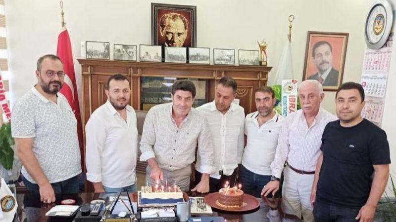 Başkan Korkutmaz'ın Doğum Gününü Kutladılar
