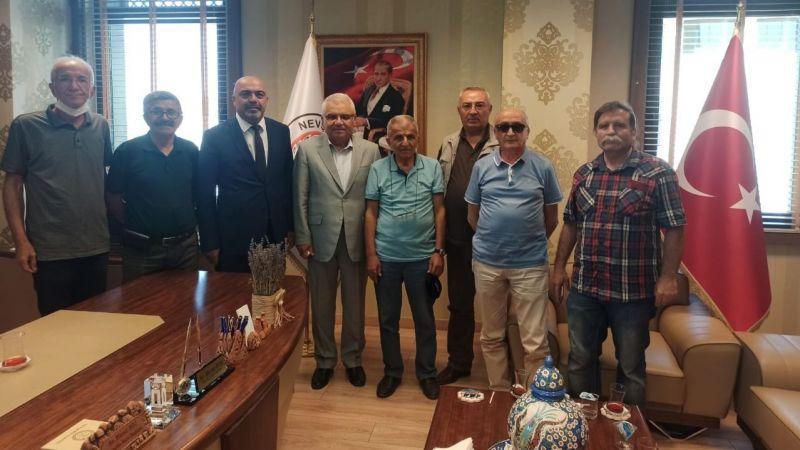 CHP Heyeti Yeni Başkanlara Hayırlı Olsun Ziyaretinde Bulundu