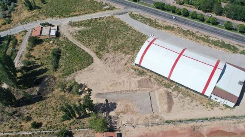 Gülşehir'de Yarı Olimpik Yüzme Havuzu İçin Çalışmalar Başladı