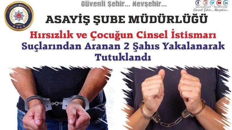 Aksaray'da Aranan Cinsel İstismarcı Nevşehir'de Yakalandı