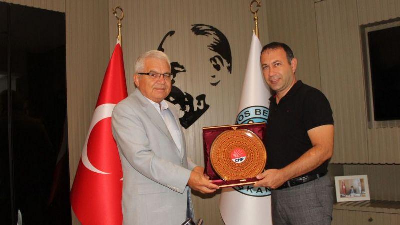 CHP Heyetinden Başkan İbaş'a Ziyaret
