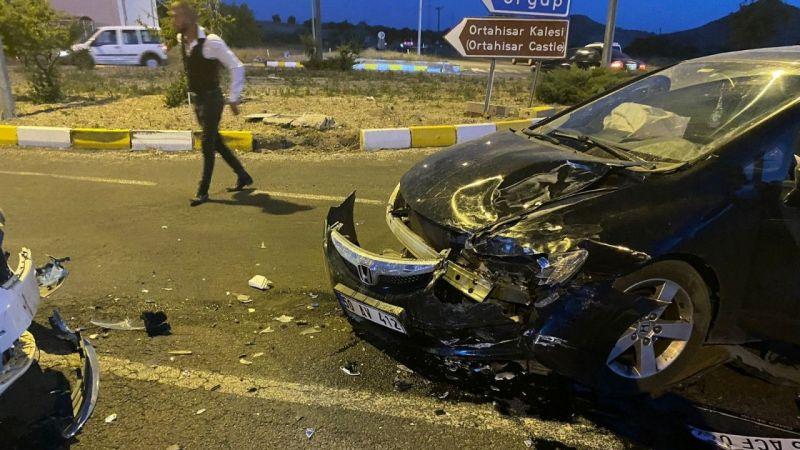 Nevşehir'de İki Araç Çarpıştı: 1 Yaralı