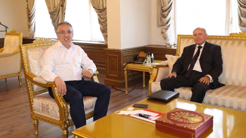 Arnavutluk Ankara Büyükelçisi'nden Başkan Savran'a Ziyaret!