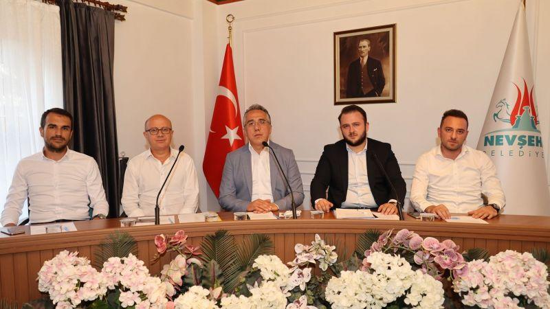 Nevşehir Belediye Meclisi Ağustos Ayı Toplantısı Yapıldı