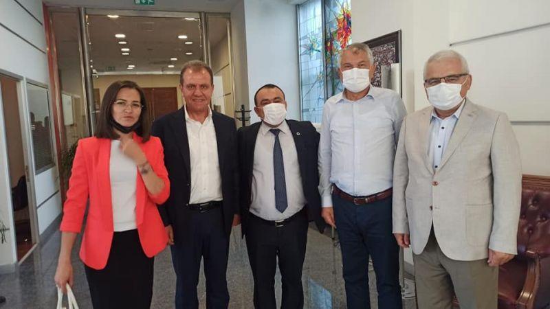 CHP'li Başkanlar Kılıçdaroğlu İle Bir Araya Geldi