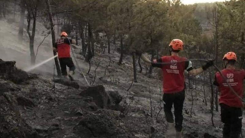 İHH Nevşehir Arama Kurtarma Ekipleri, Orman Yangınlarına Karşı Savaşıyor