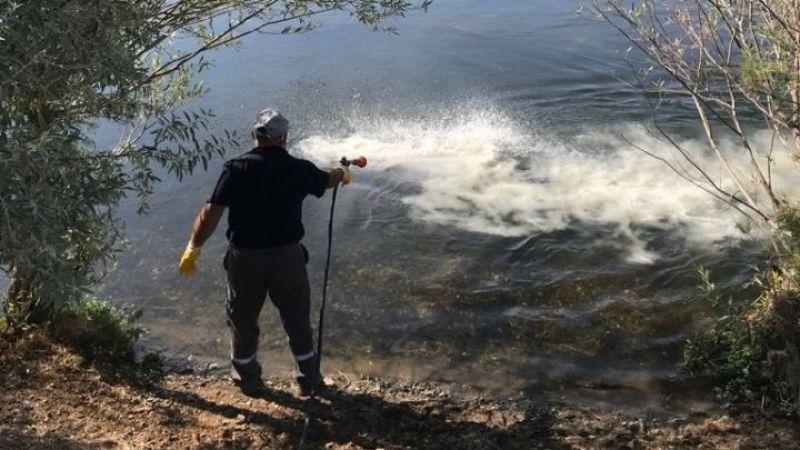 Nevşehir İl Özel İdaresi Su ve Kanal Hizmetleri Müdürlüğü Biyolojik İlaçlama Yaptı