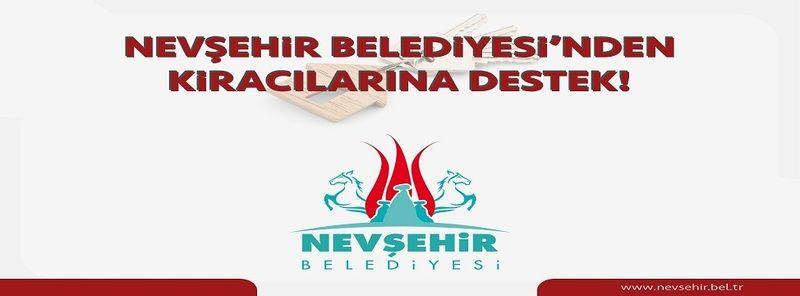 Nevşehir Belediyesi'nden Kiracılarına Destek