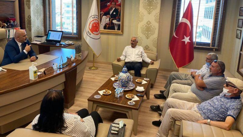 Miletvekili Sarıaslan'dan Başkan Boz'a Ziyaret!