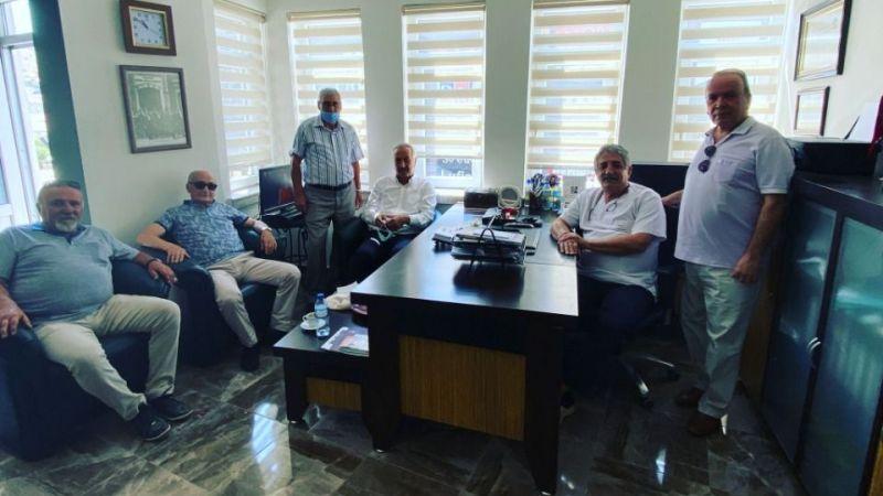 Milletvekili Sarıaslan ve Heyetinden Dr. Bilgin'e Ziyaret