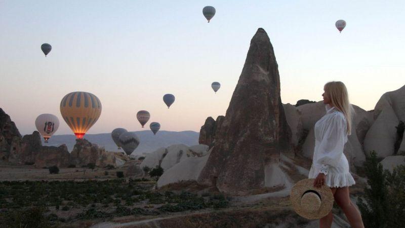 Kapadokya Bölgesine Temmuz Ayında 370 bin 534 Turist Ziyareti