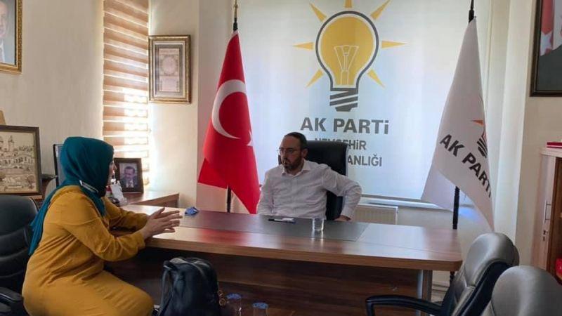 AK Parti İl Başkanı Kemikkıran Vatandaşı Dinliyor!