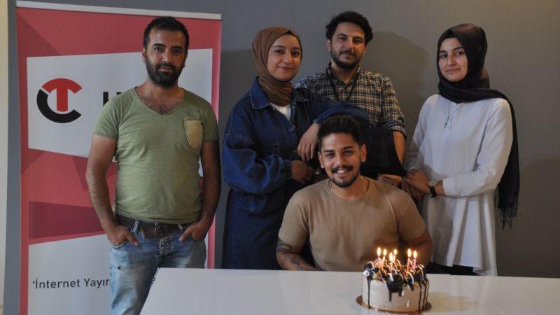 CT Haber Muhabiri Alp Eren Açıkbaş'ın Mutlu Günü