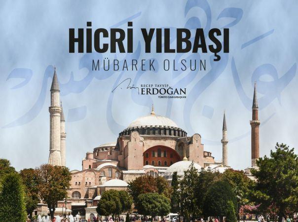 Cumhurbaşkanı Erdoğan'dan Hicri Yeni Yıl Tebrik Mesajı