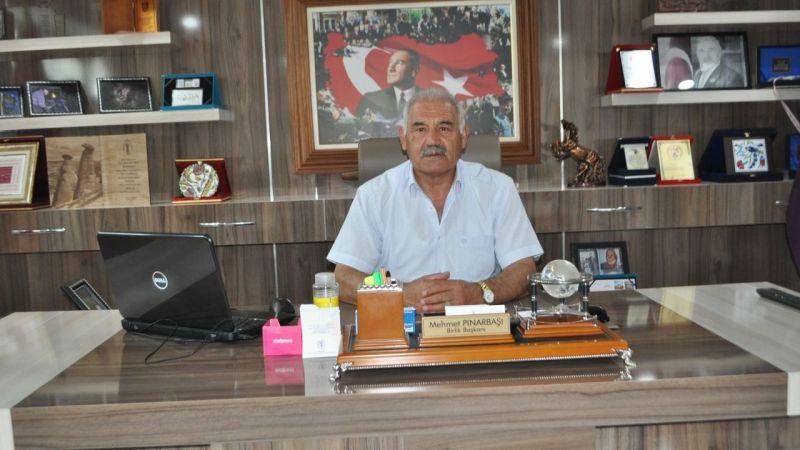 Başkan Pınarbaşı'ndan  Hicri Yılbaşı ve Muharrem Ayı Kutlama Mesajı