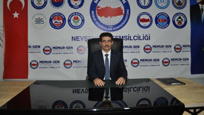Eğitim-Bir-Sen Nevşehir Şube Başkanı Çiftci'den Hicri Yılbaşı Mesajı