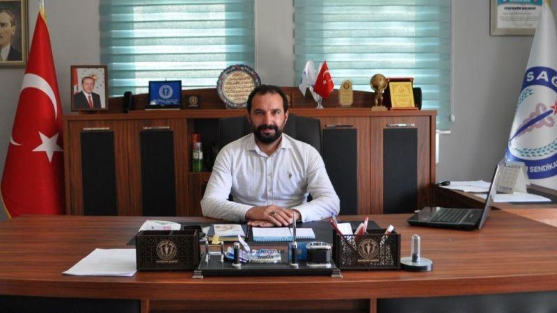 Sağlık-Sen Nevşehir Şube Başkanı Gündüzpolat Hicri Yılbaşı'nı Kutladı