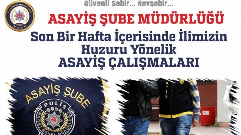 Nevşehir Emniyeti Şehrin Huzuru İçin Aralıksız Çalışıyor!