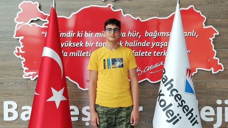 Bahçeşehir Koleji 9. Sınıf Öğrencisi Bahattin Baş Nevşehir 2.si Oldu