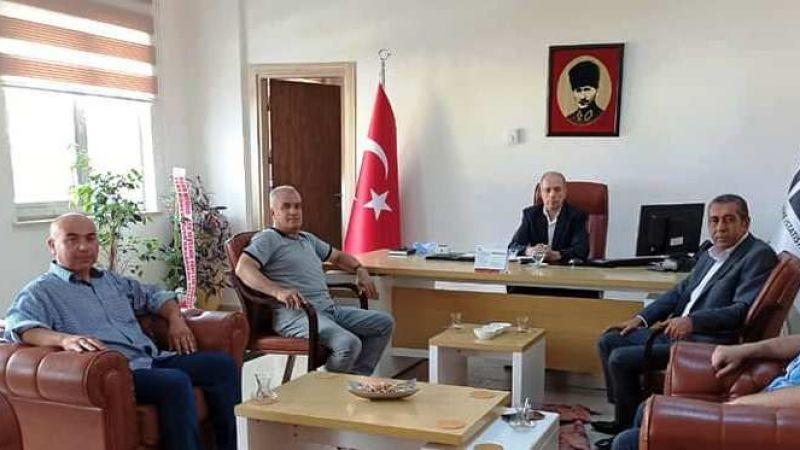 Başkan Ağmanalmaz'dan TÜİK ve İŞKUR Ziyaretleri