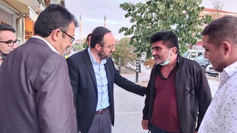 Başkan Kemikkıran Kozaklı'da İlçe Teşkilat Toplantısına Katıldı