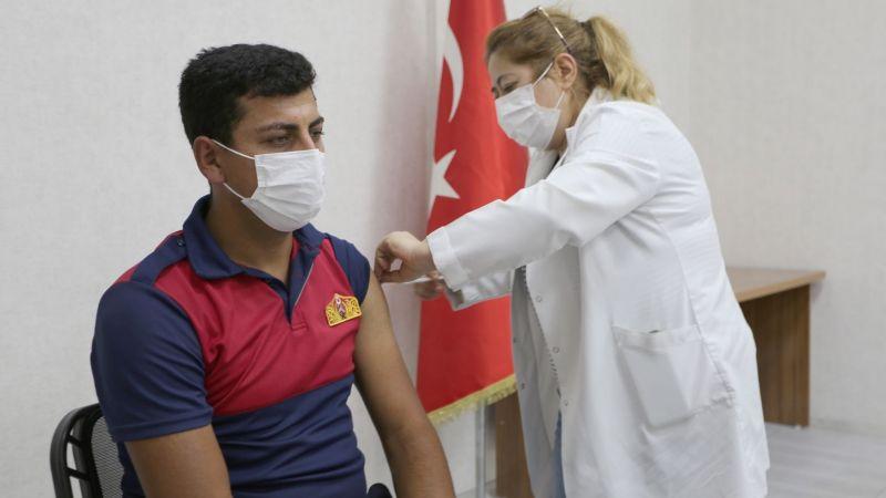 Belediye Çalışanlarına 2. Doz Kovid 19 Aşısı Yapıldı