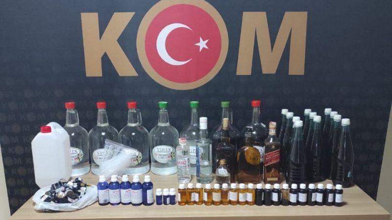 Nevşehir'de 34 Litre Kaçak Alkol Ele Geçirildi