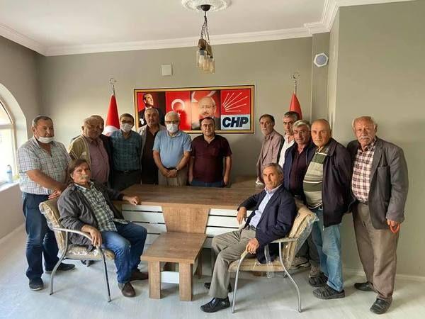 Başkan Gülmez'den Derinkuyu İlçe Başkanlığ'na Hayırlı Olsun Ziyareti