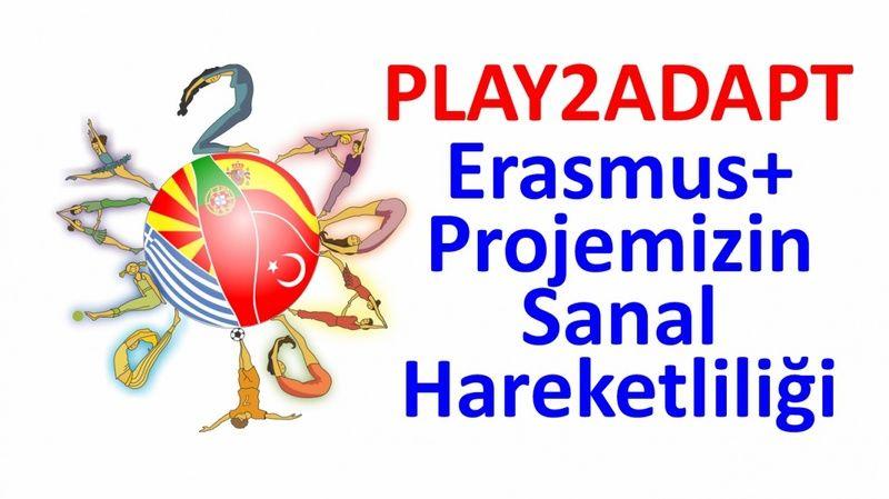 Hibe Almaya Hak Kazanan Erasmus Projesinin Sanal Hareketliliği Gerçekleştirildi