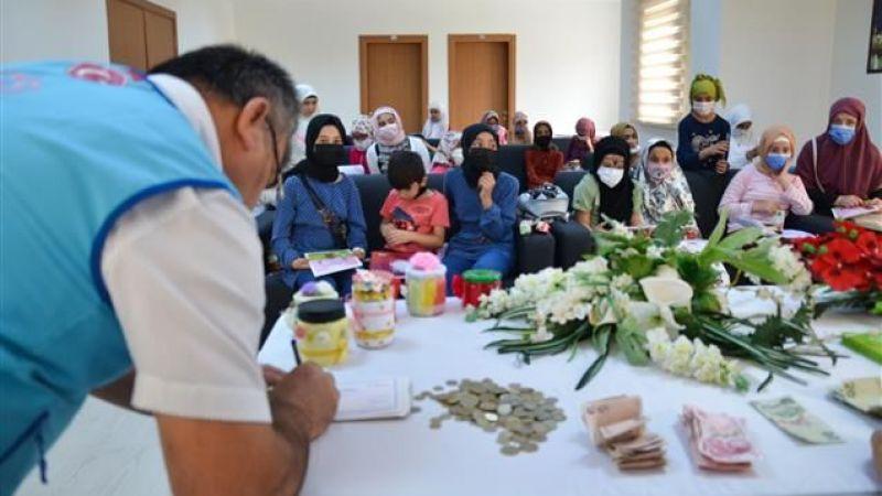 Kur'an Kursu Öğrencilerinden Türkiye Diyanet Vakfı'na Bağış
