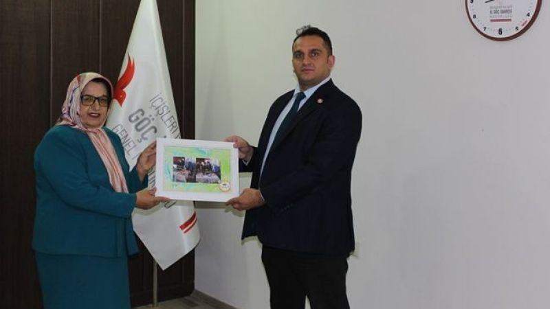 Atlı'dan Göç İdaresi İl Müdürü Doksar'a Teşekkür Ziyareti
