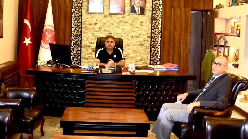 Cezaevi'nin Yeni Müdürü Demir'den Duru'ya Ziyaret