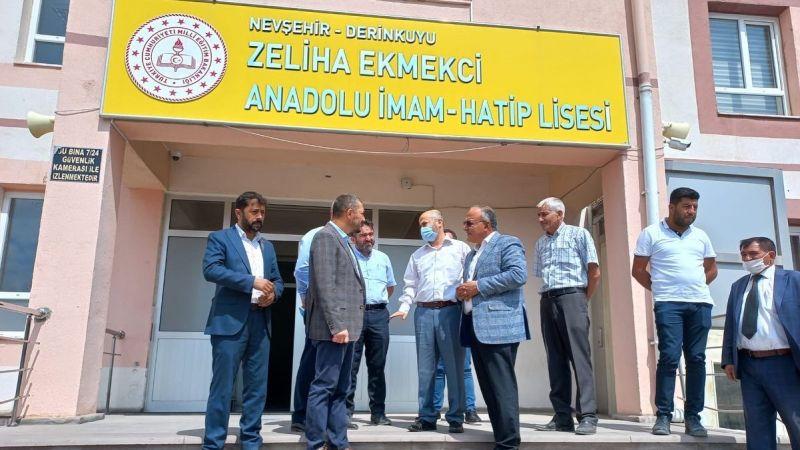 Milletvekili Mustafa Açıkgöz'den Derinkuyu'ya Ziyaret