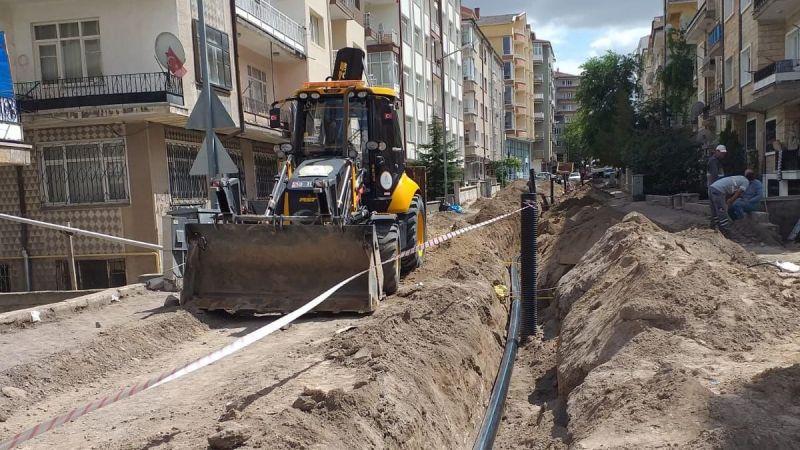 Mahallelerdeki Altyapı ve Üstyapı Çalışmaları Devam Ediyor