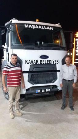 Kavak'tan Bozkurt'a Yardım Eli